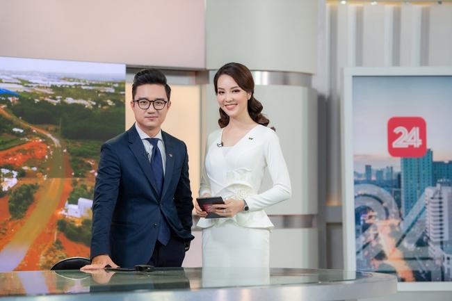 MC Thụy Vân lần đầu tái xuất trên sóng VTV sau loạt tin đồn nghỉ việc, khoe thần thái xinh đẹp khiến dân tình ngỡ ngàng - Ảnh 1.