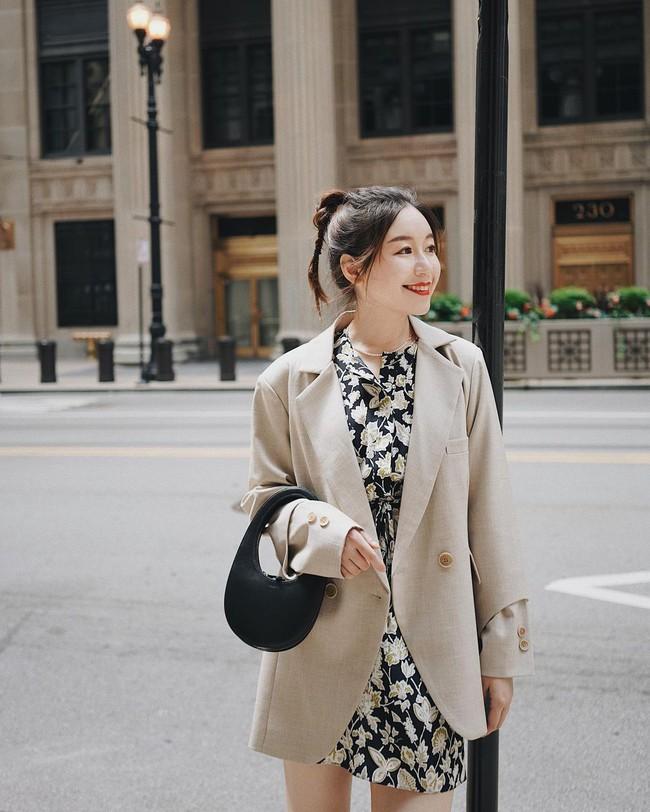Chỉ với một kiểu blazer, nàng fashionista đã mix được cả chục set đồ xịn đẹp, thấy mà chẳng muốn shopping nhiều cho phí tiền - Ảnh 6.
