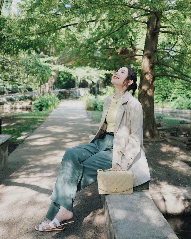 Chỉ với một kiểu blazer, nàng fashionista đã mix được cả chục set đồ xịn đẹp, thấy mà chẳng muốn shopping nhiều cho phí tiền - Ảnh 8.