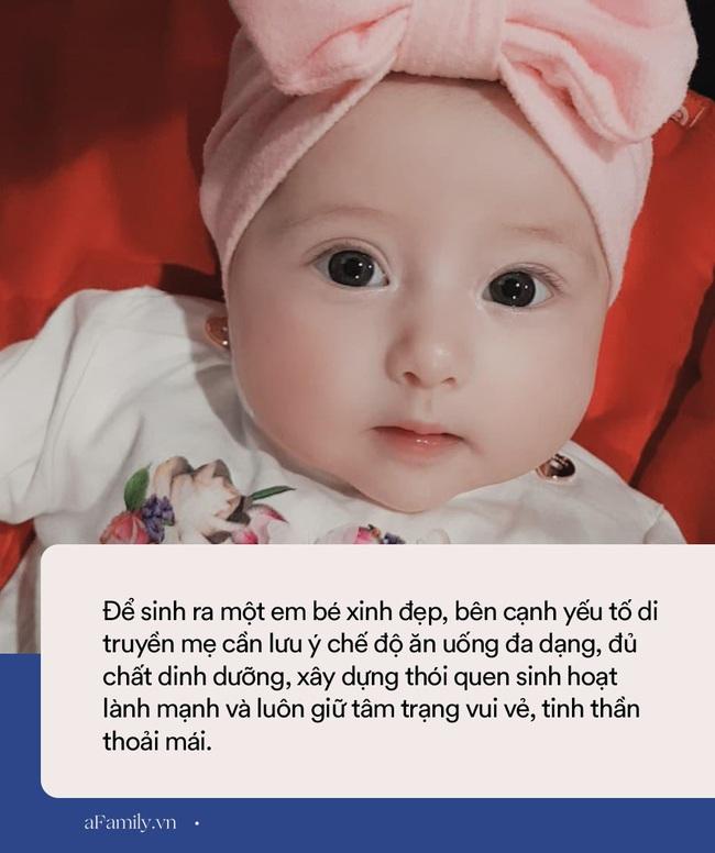 Em bé sơ sinh vừa ra đời đã đẹp như thiên thần, thói quen của mẹ quyết định phần lớn dung mạo của con - Ảnh 6.