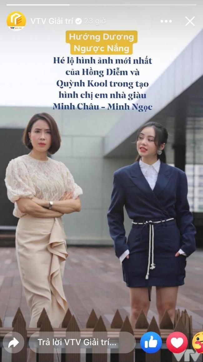 """Lộ tạo hình chị em nhà giàu của Hồng Diễm - Quỳnh Kool trong phim mới đóng cùng Hồng Đăng, chị thì sang còn em thì... """"sai""""! - Ảnh 1."""