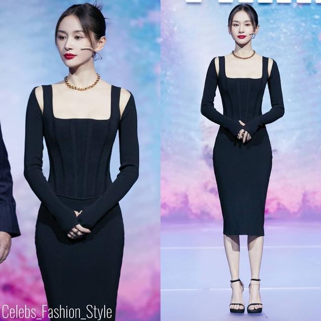 """Tuần qua các chị đẹp đều diện đầm đen đi dự sự kiện, Nữ thần Kim Ưng Tống Thiến lại tiếp tục bị """"réo tên""""  - Ảnh 2."""