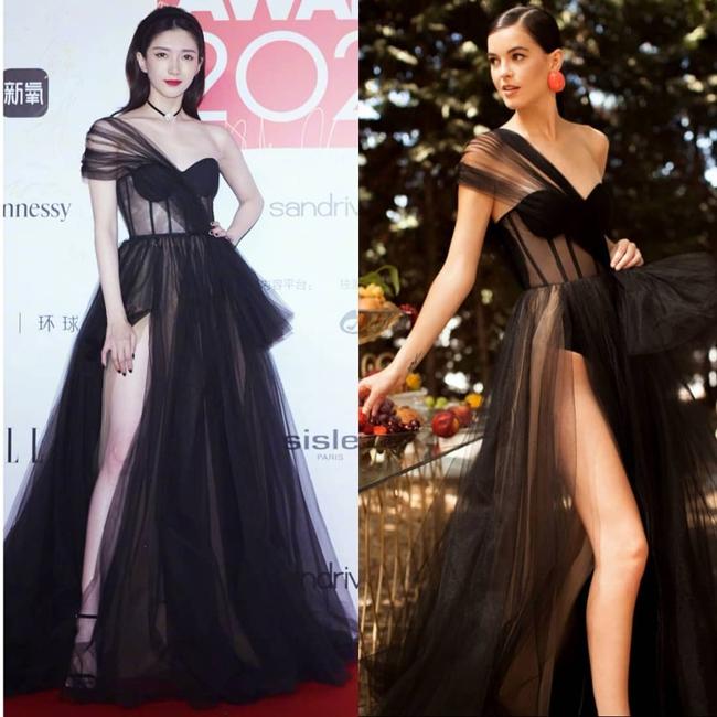 """Tuần qua các chị đẹp đều diện đầm đen đi dự sự kiện, Nữ thần Kim Ưng Tống Thiến lại tiếp tục bị """"réo tên""""  - Ảnh 8."""