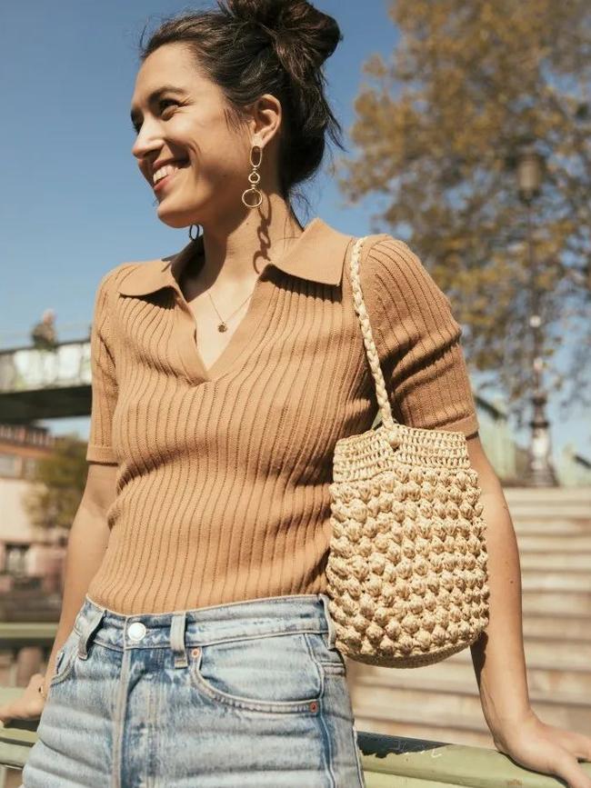 Áo blouse + quần jeans: Combo giúp nàng công sở trông sang như gái Pháp trong ngày Thu - Ảnh 9.