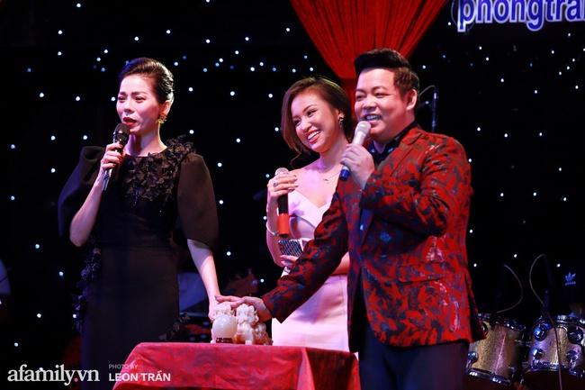 Chồng sắp cưới Vân Hugo mạnh tay chi 80 triệu mua vật phẩm từ thiện của Lệ Quyên và Quang Lê - Ảnh 2.
