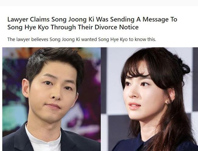 """Hơn 1 năm sau vụ ly hôn thế kỷ, bí mật động trời được tiết lộ: Lý do khiến Song Joong Ki """"ép buộc"""" Song Hye Kyo ký vào đơn thỏa thuận? - Ảnh 3."""