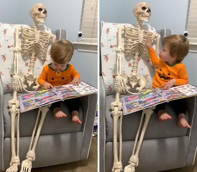 """Xuống dọn kho cùng mẹ, cậu bé 2 tuổi đã tìm thấy """"chân ái"""" của đời mình, nhưng ai cũng phải """"ngã ngửa"""" khi biết danh tính người bạn này - Ảnh 9."""