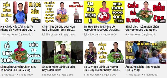 """Bà Lý Vlog - """"Bản sao lỗi"""" của bà Tân Vlog liên tục bị dân mạng chỉ trích: Ăn hoa quả chấm mắm tôm, nấu nướng mất vệ sinh, ngồi ăn ở bãi đất đá lem nhem bẩn - Ảnh 2."""