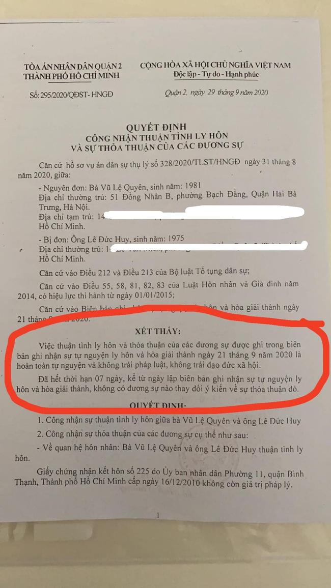 Lệ Quyên chính thức xác nhận đã ly hôn, khẳng định: Không vi phạm đạo đức  - Ảnh 2.
