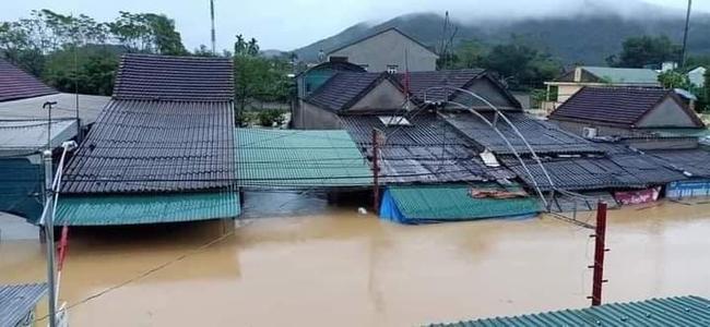 Nghệ An: Đã có 2 người mất tích sau mưa lũ - Ảnh 2.