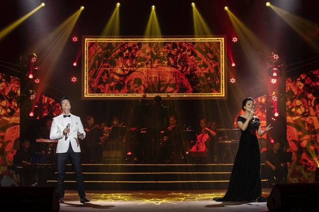 Quang Dũng ngọt ngào song ca cùng Hồng Nhung trong đêm nhạc quyên góp cho đồng bào miền Trung - Ảnh 6.