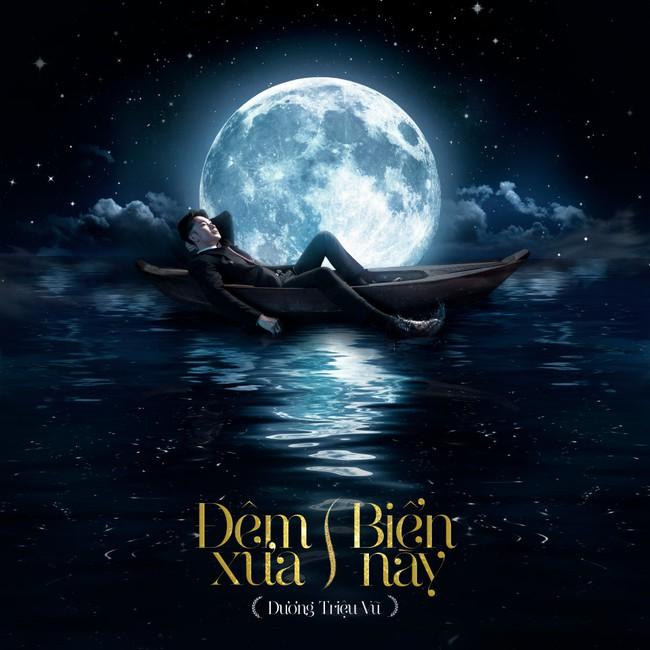 Dương Triệu Vũ hé lộ hình ảnh say trăng đầy ma mị, bồng bềnh trên biển nước - Ảnh 2.
