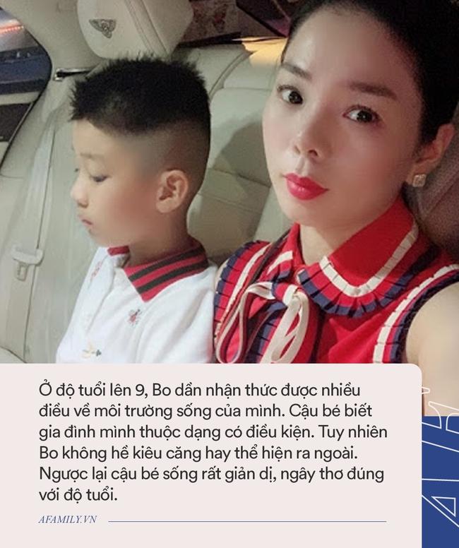 Con trai của Lệ Quyên: Là con người nổi tiếng, học trường quốc tế xịn sò nhưng đến lớp cũng âm thầm như ai bởi điều này - Ảnh 3.