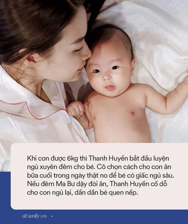 """Học bà xã Rhymastic cách luyện ngủ xuyên đêm cho con cực hiệu quả, đúng là """"vợ nhà người ta"""" không chỉ xinh đẹp mà còn nuôi con khéo - Ảnh 2."""