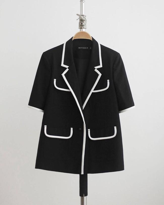 Nhìn Hà Tăng diện blazer cộc tay, hội chị em chỉ muốn copy ngay set đồ này để mặc đi làm  - Ảnh 13.
