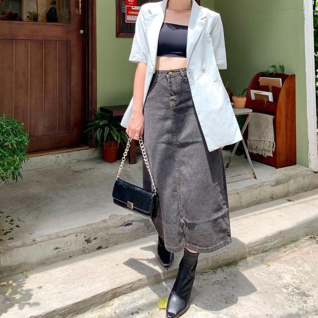 Nhìn Hà Tăng diện blazer cộc tay, hội chị em chỉ muốn copy ngay set đồ này để mặc đi làm  - Ảnh 9.