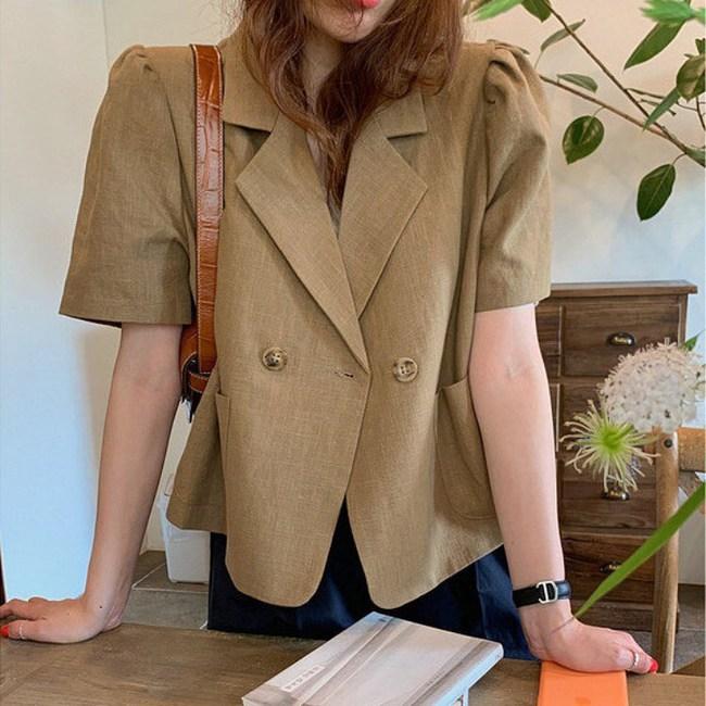 Nhìn Hà Tăng diện blazer cộc tay, hội chị em chỉ muốn copy ngay set đồ này để mặc đi làm  - Ảnh 7.