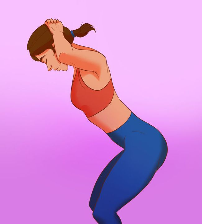 8 bài tập dễ dàng để có cổ thẳng, vai thanh mảnh và không bị gù lưng tôm do xem điện thoại nhiều - Ảnh 2.