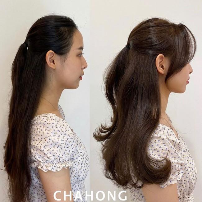 Học gái Hàn tự cắt tóc mái: Không lấy kéo cắt bằng mà tỉa nhỏ thế này để mái uốn cong tự nhiên nhìn siêu đẹp  - Ảnh 10.