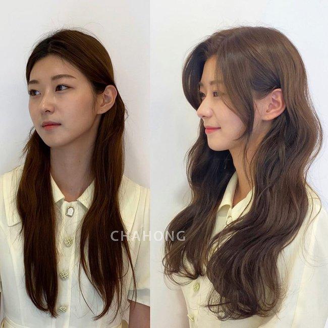 Học gái Hàn tự cắt tóc mái: Không lấy kéo cắt bằng mà tỉa nhỏ thế này để mái uốn cong tự nhiên nhìn siêu đẹp  - Ảnh 8.