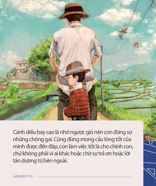Thư cha gửi con trai: Từ 0,25 điểm đánh tuột giấc mơ của nam sinh 10 năm cõng bạn tới trường, cuộc đời này đừng mong cầu sự ưu tiên và lòng tốt được đáp đền!  - Ảnh 2.