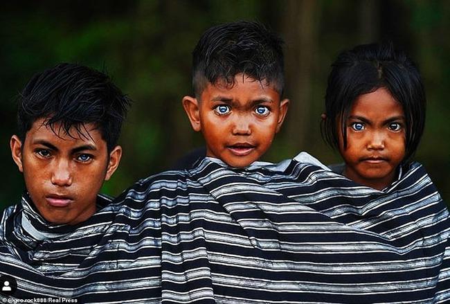 Hội chứng di truyền hiếm gặp khiến bộ tộc người Indonesia này có đôi mắt màu xanh phát sáng - Ảnh 3.