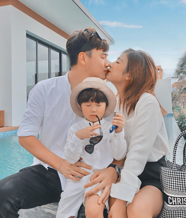 Gia đình Trang Lou - Tùng Sơn vui mừng thông báo có thêm thành viên mới, tiết lộ tâm trạng của bé Xoài khi sắp được làm anh - Ảnh 3.