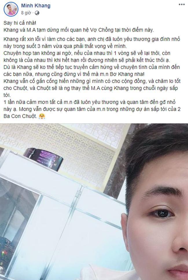 `` Người đàn ông Việt đầu tiên mang bầu '' Nói về nghi án chia tay: Vợ bỏ đi khi đứa con vừa đầy tháng.  Zalo kết bạn với 600 chàng trai và nhắn tin mỗi ngày - Ảnh 1.