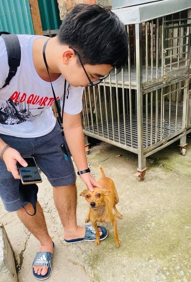 Chú chó rưng rưng nước mắt khi gặp lại chủ sau 1 tuần bị trộm bắt đi - Ảnh 1.