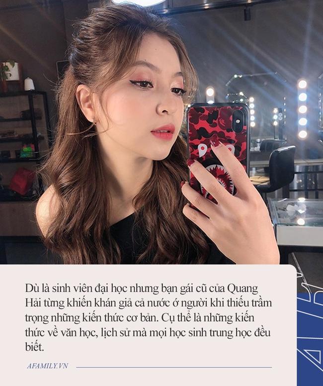 """Cô gái khiến Quang Hải được mọi người yêu cầu """"quay xe"""" gấp: Sinh viên đại học nhưng từng bị khán giả cả nước chê cười vì không biết điều này - Ảnh 3."""