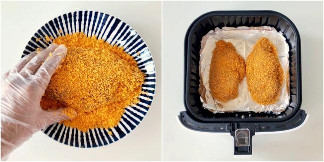 Lườn gà khô là thế nhưng nếu dùng nồi chiên không dầu để làm món này thì ai ăn cũng mê tít! - Ảnh 4.