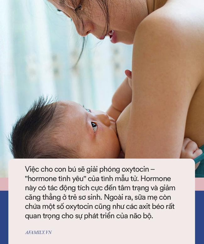 Khoa học chứng minh: Những đứa trẻ được bú sữa mẹ ít lo lắng hơn, có sự tập trung tốt hơn và kết bạn dễ dàng hơn khi lớn lên - Ảnh 2.