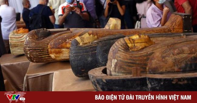 Ai Cập công bố phát hiện nhiều cổ vật niên đại 2.500 tuổi - Ảnh 1.