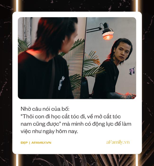Cali Phạm: Từ cú vấp ngã trượt đại học, nhờ 1 câu nói của bố mà đạp xe vòng quanh Hà Nội để học cắt tóc và chia sẻ thật lòng cho các chị em muốn tẩy tóc - Ảnh 2.