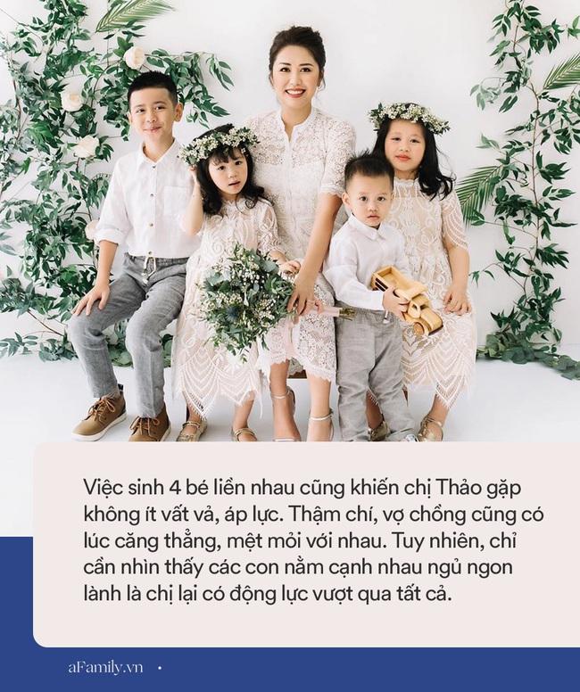 Mẹ Sài Gòn 8 năm sinh mổ 4 lần, nhìn đàn con chút chít đáng yêu ai cũng thích nhưng ngó nhan sắc của mẹ còn ngỡ ngàng hơn - Ảnh 3.
