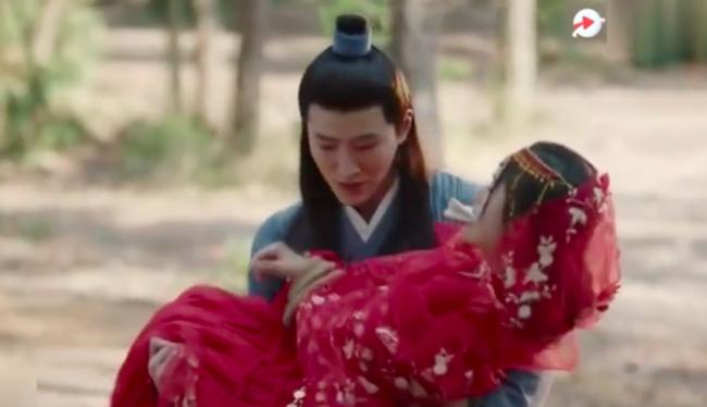 """Cúc Tịnh Y diễn cảnh bị bắt cóc mà """"đơ"""" đến mức vô lý, lập tức bị đưa vào nhóm """"hội chị em của Angelababy"""" - Ảnh 9."""