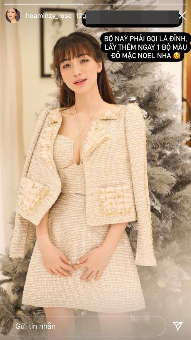 """Hòa Minzy khoe nhan sắc ngày càng đằm thắm nhưng mọi sự chú ý đều đổ dồn vào khuôn ngực """"khủng"""" lấp ló - Ảnh 2."""