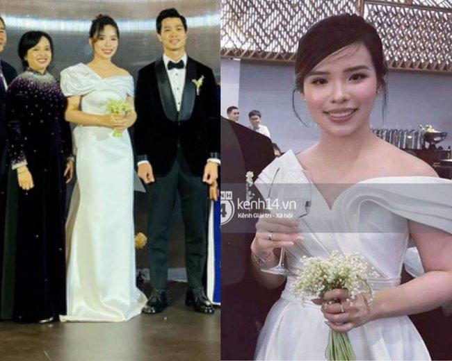 Cứ nói mãi về váy cưới của Viên Minh mà không biết loạt kiểu tóc giúp cô che nhược điểm, chạm đỉnh cao nhan sắc thì thật phí! - Ảnh 6.