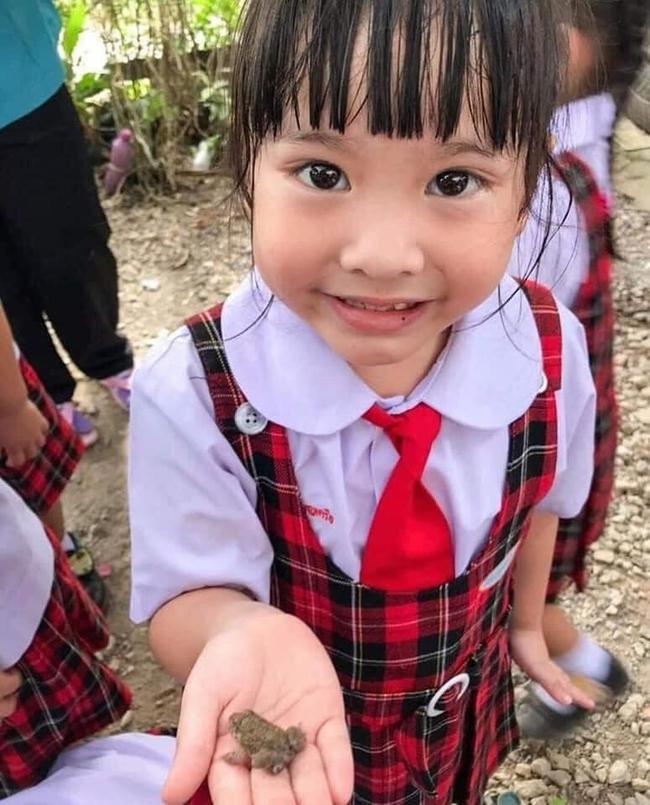 Để học sinh hiểu về ếch, cô giáo cho các em sờ tận tay nhưng bức ảnh cuối tiết lộ kết đắng của loài lưỡng cư khiến ai cũng bật cười - Ảnh 3.