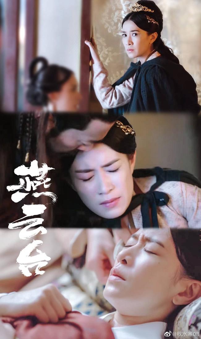 Yến Vân Đài: Chồng chết, Xa Thi Mạn lại bị sảy thai, nhìn cảnh khóc mà fan la hét ầm ĩ vì quá ngược - Ảnh 5.