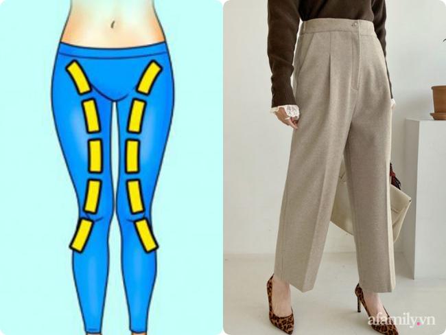 """3 kiểu quần """"tủ"""" cho 3 nhược điểm chân cong - Ảnh 2."""