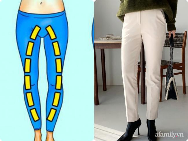 """3 kiểu quần """"tủ"""" cho 3 nhược điểm chân cong - Ảnh 4."""