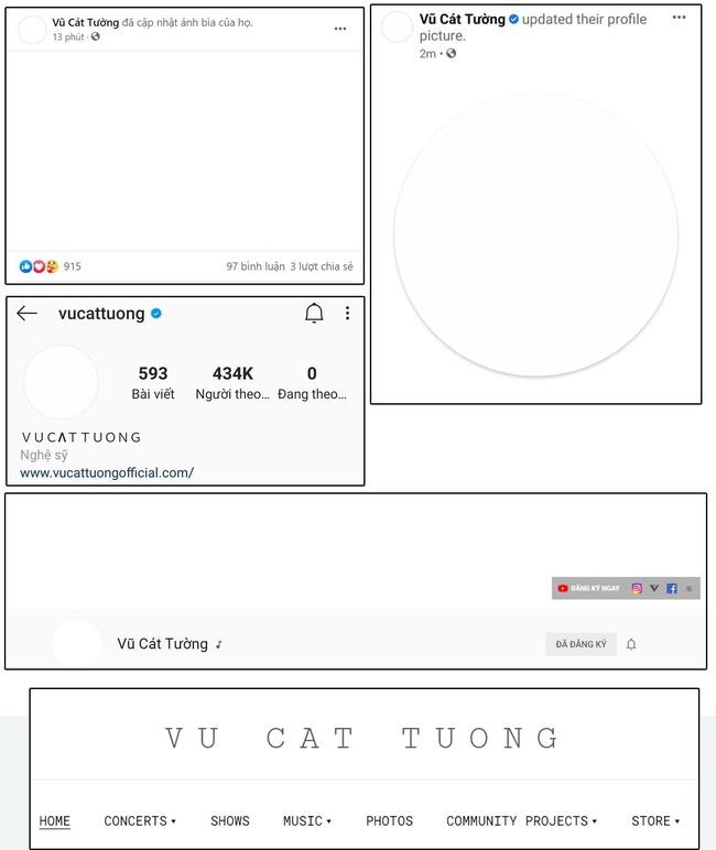 """Vũ Cát Tường """"phủ trắng"""" toàn bộ mạng xã hội, xác nhận lịch comeback sau 1 năm """"ở ẩn"""" - Ảnh 1."""