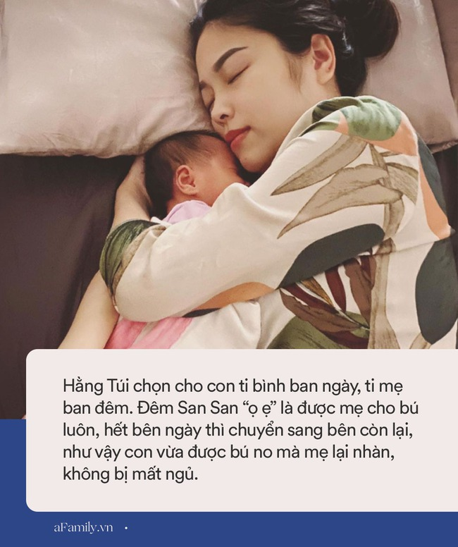 Bé út nhà Hằng Túi đầy tháng đã tăng gần 2kg, hot mom chỉ cách nuôi con nhàn tênh chẳng phải thức đêm hôm nào - Ảnh 4.