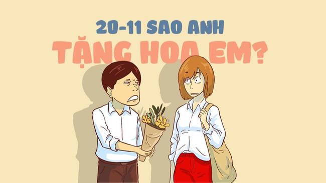 Nhân ngày 20/11, chị gái `` bạn trai 3 năm '' cảm ơn chủ nhân ... người yêu cũ!  Ảnh 3.