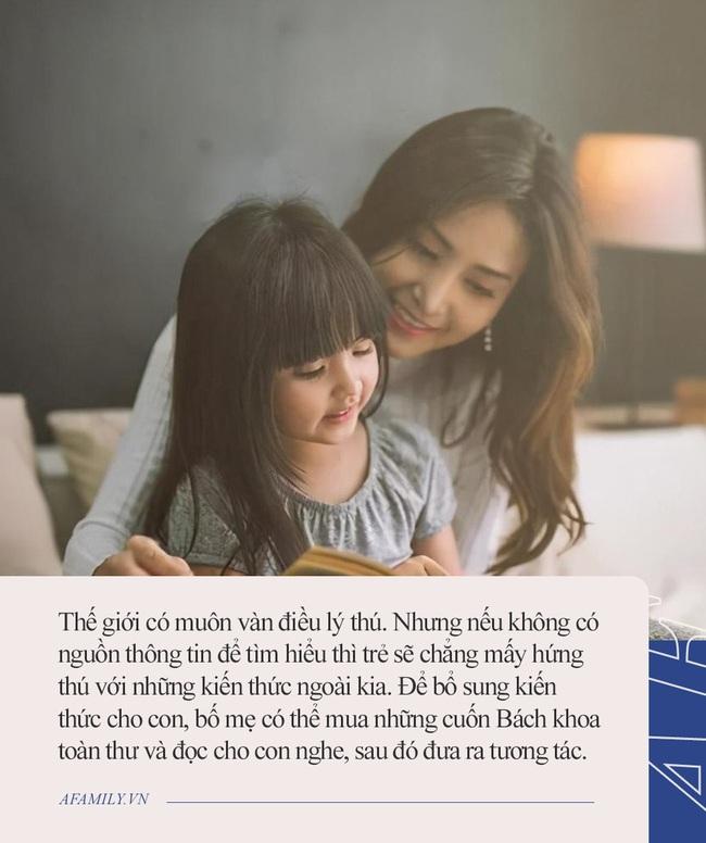 Nghiên cứu của đại học Harvard chỉ ra cách tốt nhất để con thông minh từ nhỏ, bao năm nay bố mẹ cứ tưởng nhầm là đọc sách - Ảnh 3.