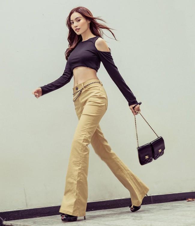 """Mỹ nhân Việt cực chuộng một combo quần dài + giày hack dáng siêu ảo, nàng nấm lùn áp dụng cũng thành """"chân dài tới nách"""" - Ảnh 1."""
