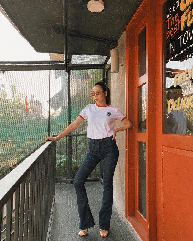 """Mỹ nhân Việt cực chuộng một combo quần dài + giày hack dáng siêu ảo, nàng nấm lùn áp dụng cũng thành """"chân dài tới nách"""" - Ảnh 7."""