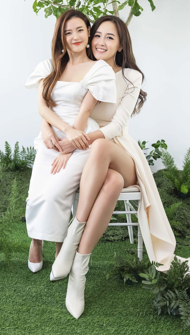 Mai Phương Thúy - Midu ở chung 1 khung hình, đôi chân siêu dài của Hoa hậu gây chú ý - Ảnh 1.