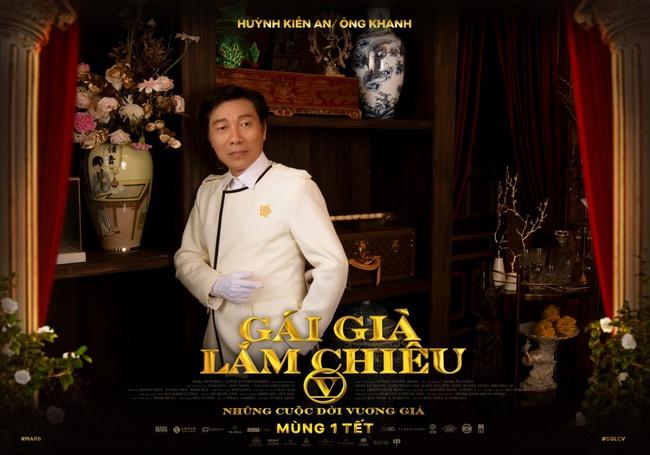 """NSND Lê Khanh, NSND Hồng Vân rực rỡ đầy uy quyền trên poster """"Gái Già Lắm Chiêu V"""" - Ảnh 10."""